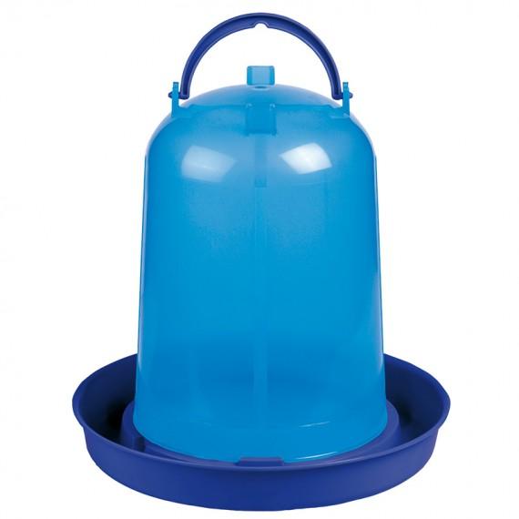 Bebedero eco pollos 5 litros azul