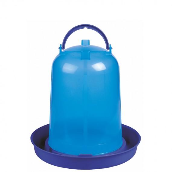 Bebedero eco pollos 8 litros azul