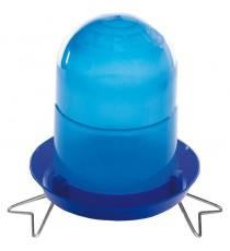 Bebedero pollitos 1ra edad 2l con patas azul
