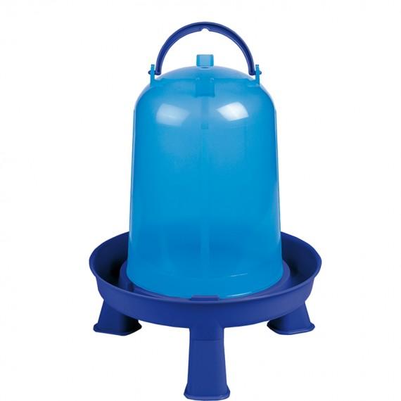 Bebedero eco 5 litros con patas azul