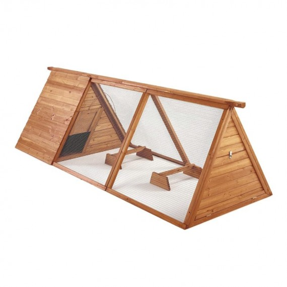 Caseta madera aves modelo Bristol